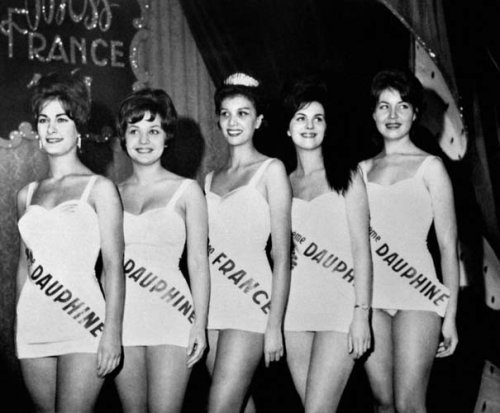 Luce Auger - Miss France 1961