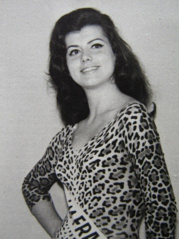 Christiane Sibellin - Miss France 1965