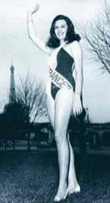 Suzanne Angly - Miss France 1969