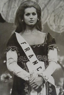 Myriam Stocco - Miss France 1971