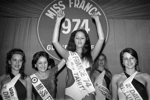 Edna Tepava - Miss France 1974