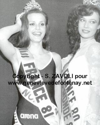Isabelle Benard - Miss France 1981
