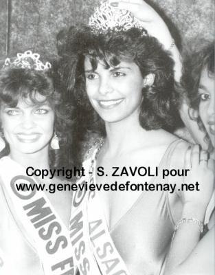 Suzanne Iskandar - Miss France 1985