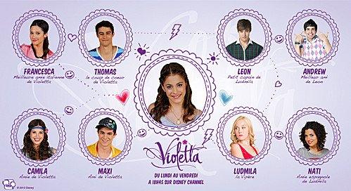 Personnage de la s rie violetta saison 1 blog de violetta unevie - Violetta personnage ...