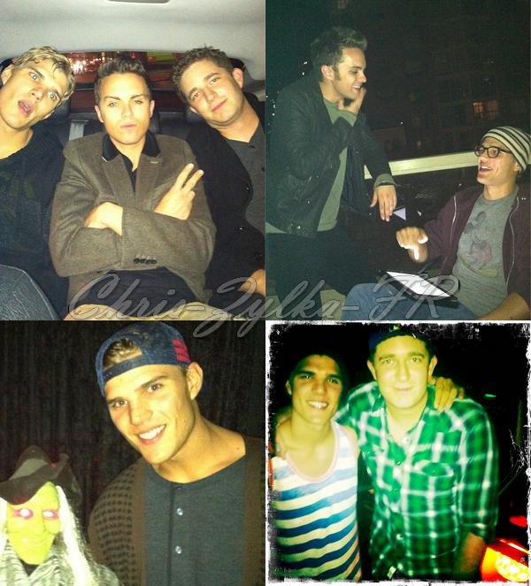 Quatre récentes photos Twitter avec Chris sont arrivées !