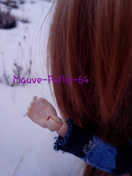 Leï dans la neige :3
