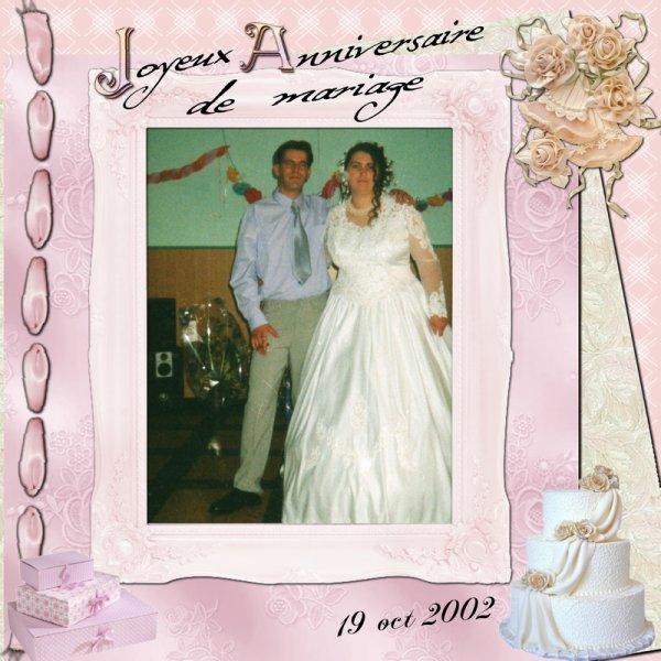 L Joyeux Anniversaire De Mariage A Mon Frere Et Ma Belle Soeur Gros
