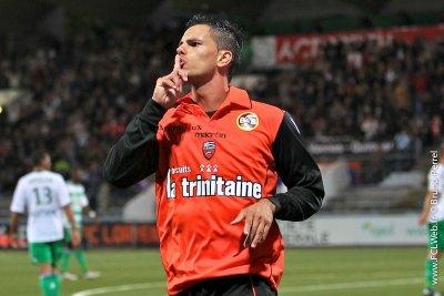 Jérémie Aliadière élu Merlu du match