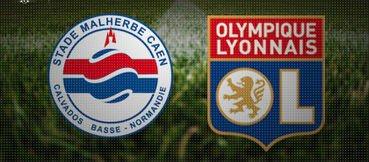 Caen 1-0 Olympique Lyonnais 7ème journée de Ligue 1 à 19h00