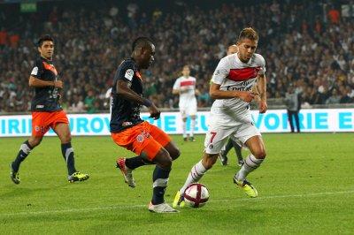Montpellier 0-3 Paris SG 8ème journée de Ligue 1 à 21h00