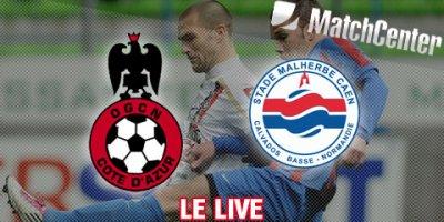 Caen 1-1 Nice 9ème journée de Ligue 1 à 19h00