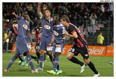 Nice 3-0 Bordeaux 10ème journée de Ligue 1 à 21h00 sur Orange Sport