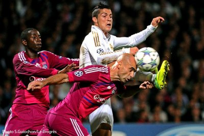 Olympique Lyonnais 0-2 Real Madrid 4ème journée de poule de la Ligue des Champions à 20h45 sur TF1