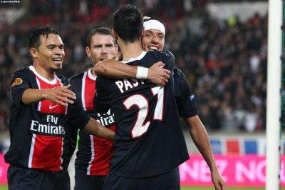 Paris SG 1-0 Bratislava 4ème journée de la phase de groupe d'Europa League à 19h00