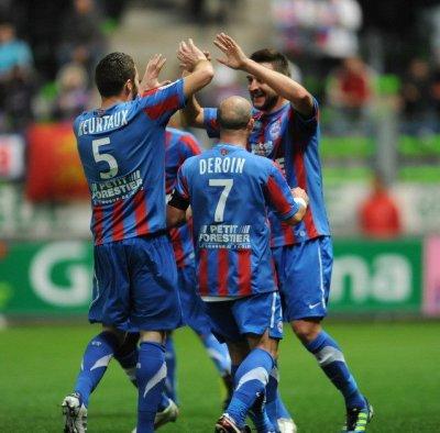 Caen 3-0 Dijon 13ème journée de Ligue 1 à 17h00
