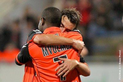 FC Lorient 1-0 Nice 15ème journée de Ligue 1 à 17h00