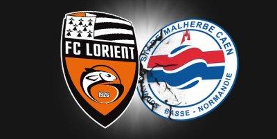 FC Lorient 0-0 Caen 19ème journée de Ligue 1 à 19h00