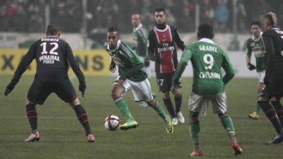 St-Etienne 0-1 Paris SG 19ème journée du championnat de France de L1 à 21h00 sur Orange Sport