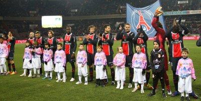 Paris SG 3-1 Evian 22ème journée de Ligue 1 à 19h00