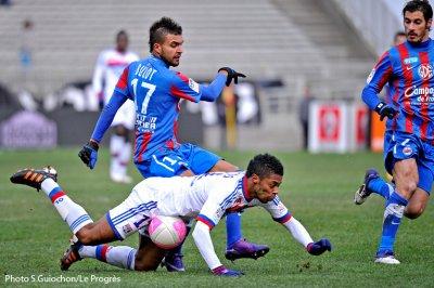 Olympique Lyonnais 1-2 Caen 23ème journée de Ligue 1 à 15h00