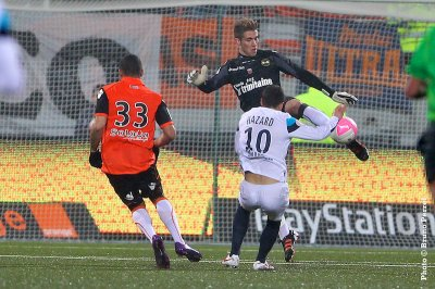 FC Lorient 0-1 Lille 24ème journée de Ligue 1 à 19h00
