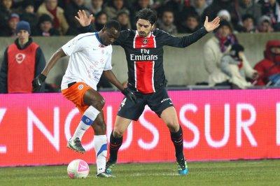 Paris SG 2-2 Montpellier 24ème journée de Ligue 1 à 21h00 sur Canal +