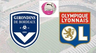 Bordeaux contre Olympique Lyonnais 24ème journée de Ligue 1 à 17h00
