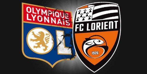 Olympique Lyonnais contre FC Lorient 33ème journée de Ligue 1 à  21h15 sur Canal +