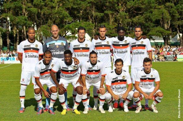 FC Lorient 0-1 Rennes match amical