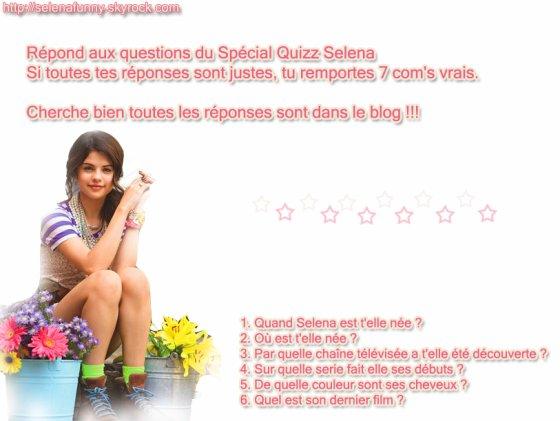 Quizz Selena