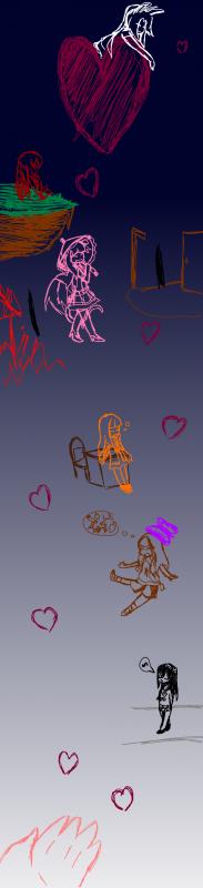 Un dessin sur la tablette