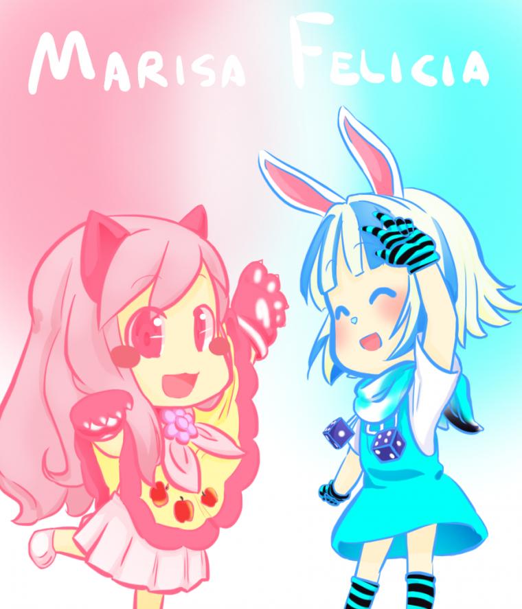Marisa et Felicia