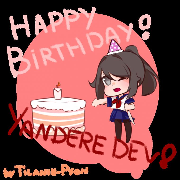 Happy Birthday Yandere Dev!!