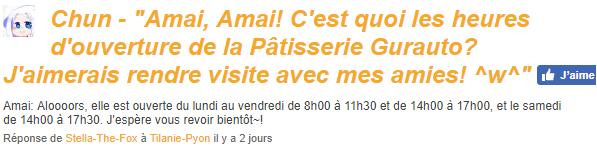 ♥ Chez la pâtissière Amai Gurauto!