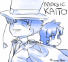 Dessins Digital #10 - Detective Conan + Magic Kaito