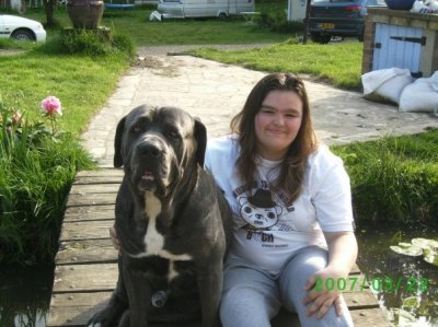 me and my friends dog