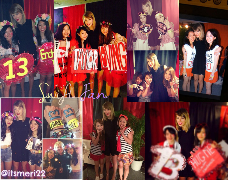 01/06/14 - Photoshoot . Candids . News . Twitter . Magazine . Soirée . Vidéo . Interview . Concert  . Red Tour - Tokyo (Japon). Quelques photos du Club Red.