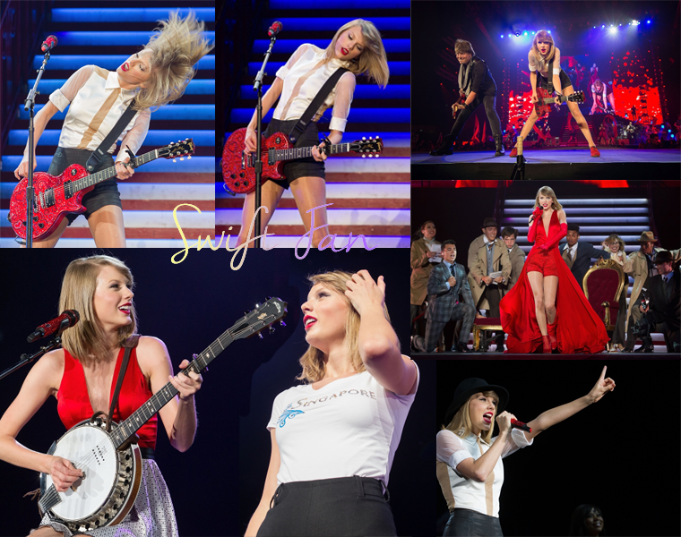 12/06/14 - Photoshoot . Candids . News . Twitter . Magazine . Soirée . Vidéo . Interview . Concert  . Red Tour - Singapour #2. La chanson surprise était Long Live.