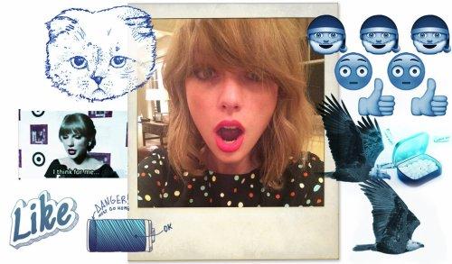 11/11/14 - Photoshoot . Candids . News . Twitter . Magazine . Soirée . Vidéo . Interview . Concert . Tumblr  . Taylor est en couverture du magazine Wonderland avec un nouveau photoshoot.
