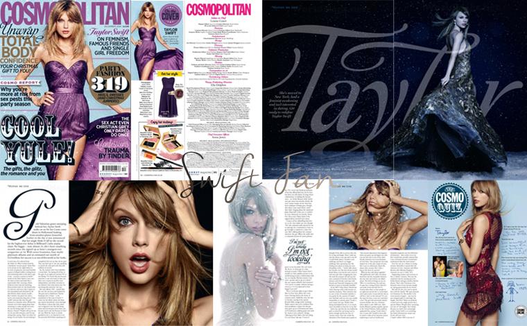 05/11/14 - Photoshoot . Candids . News . Twitter . Magazine . Soirée . Vidéo . Interview . Concert . Tumblr  . Découvrez les scans du Cosmopolitan Magazine.