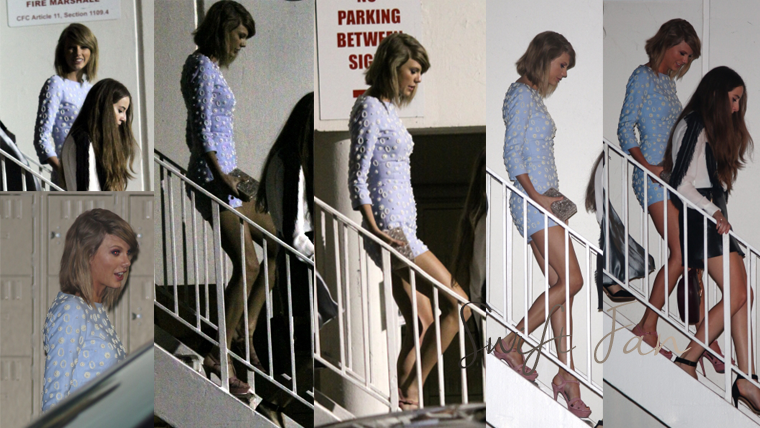 07/02/15 - Photoshoot . Candids . News . Twitter . Magazine . Soirée . Vidéo . Interview . Concert . Tumblr  . Taylor était présente au Clive Davis Pre-Grammy Gala à Beverly Hills, en Californie.