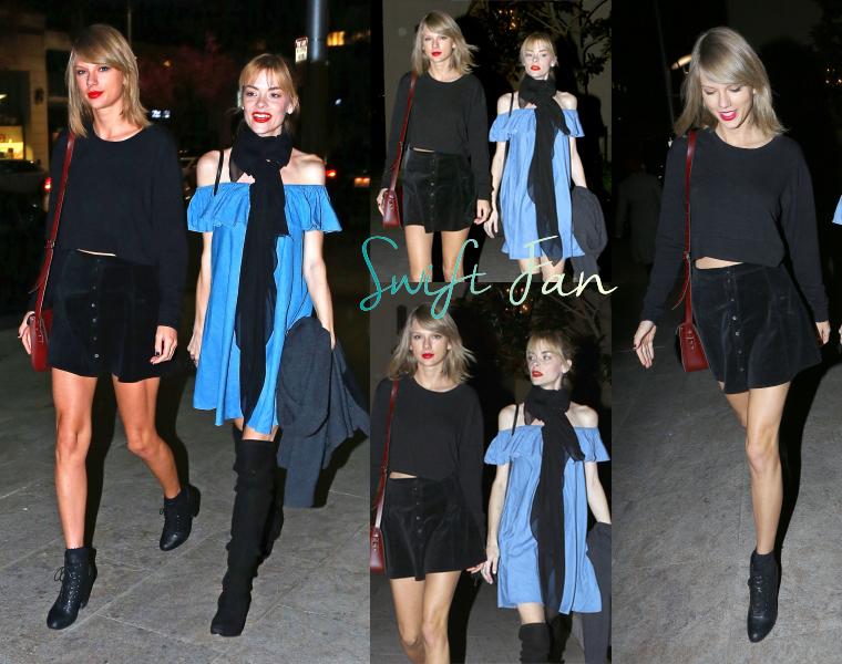 02/03/15 - Photoshoot . Candids . News . Twitter . Magazine . Soirée . Vidéo . Interview . Concert . Tumblr  . Taylor est à Beverly Hills et a été aperçue sortant d'un studio où sont auditionnés les danseurs pour le 1989 World Tour.