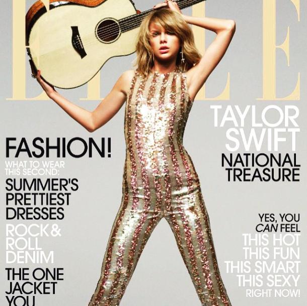 07/05/15 - Photoshoot . Candids . News . Twitter . Magazine . Soirée . Vidéo . Interview . Concert . Tumblr . Instagram . Taylor fait la couverture du magazine Elle US du mois de juin 2015. Découvrez dès à présent la couverture et un nouveau photoshoot.