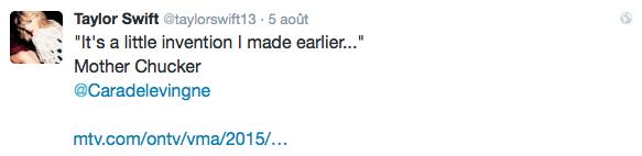 05/08/15 - Photoshoot . Candids . News . Twitter . Magazine . Soirée . Vidéo . Interview . Concert . Tumblr . Instagram . Taylor a posté de nouvelles vidéos des behind the scenes du clip Bad Blood et a annoncé le nouveau single de 1989: Wildest Dreams.