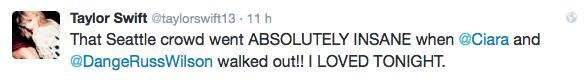 09/08/15 - Photoshoot . Candids . News . Twitter . Magazine . Soirée . Vidéo . Interview . Concert . Tumblr . Instagram . Taylor a posté des photos de son concert à Seattle et de ses invités. Taylor a également posté une vidéo behind the scenes du clip Bad Blood sur Kendrick Lamar.