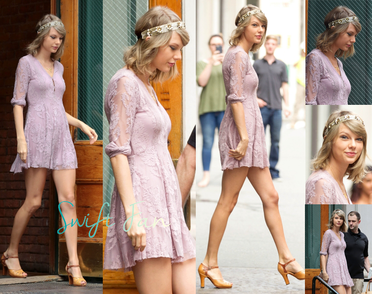 13/07/15 - Photoshoot . Candids . News . Twitter . Magazine . Soirée . Vidéo . Interview . Concert . Tumblr . Instagram . Taylor a quitté son appartement de New-York.