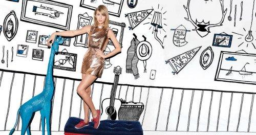 06/11/15 - Photoshoot . Candids . News . Twitter . Magazine . Soirée . Vidéo . Interview . Concert . Tumblr . Instagram . Découvrez une nouvelle photo de la campagne pour la marque de chaussures Keds.