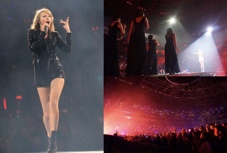 11/11/15 - Photoshoot . Candids . News . Twitter . Magazine . Soirée . Vidéo . Interview . Concert . Tumblr . Instagram . Taylor a tweeté des photos de son premier concert à Shanghai.