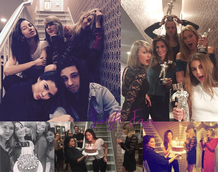 18/11/15 - Photoshoot . Candids . News . Twitter . Magazine . Soirée . Vidéo . Interview . Concert . Tumblr . Instagram . Taylor a interviewé Alessia Cara pour Yahoo.