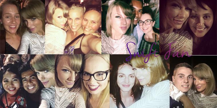03/12/15 - Photoshoot . Candids . News . Twitter . Magazine . Soirée . Vidéo . Interview . Concert . Tumblr . Instagram . Taylor a joué un mini concert au Nova's Red Room sur l'île d'Hamilton, Australie.
